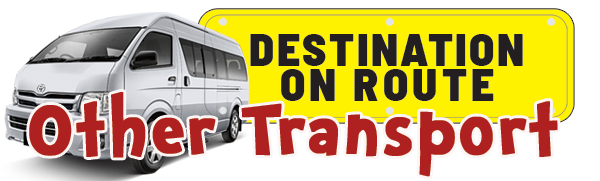 Destination on Route Other Transport Services