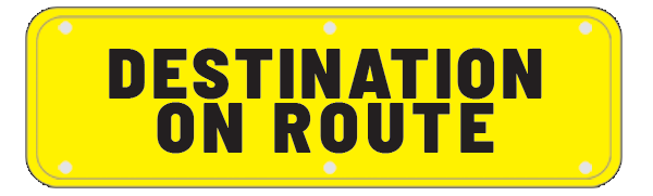 Destination on Route Logo